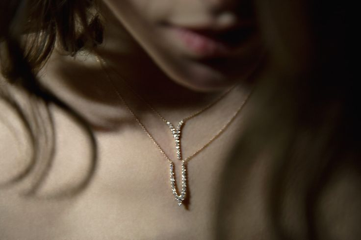 Ariane Labed with CHARNIERES pendants for YSA