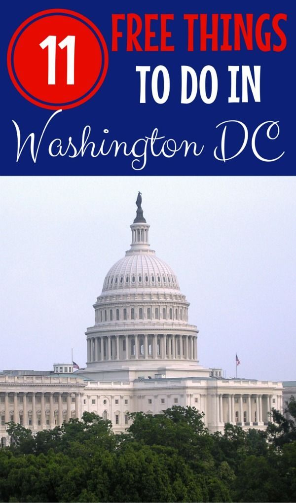 Discovering Washington DC for FREE with Tweens