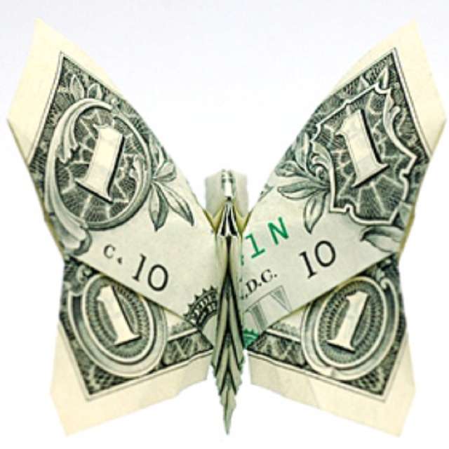Dollar Bill Origami Christmas Tree: 75 Best Money Tree Images On Pinterest
