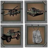 Camo+Decorations | Bedroom Decor Ideas and Designs: Army Military Camo Themed Bedroom ...