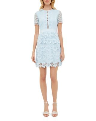 Ted Baker Layered Lace Dress | Bloomingdale's
