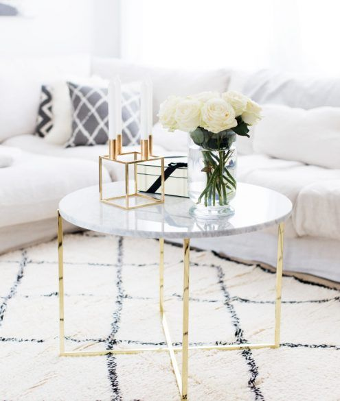 DIY Marmor Tisch Unter 20EUR