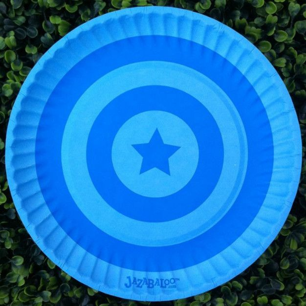 Jazabaloo Blue Plates