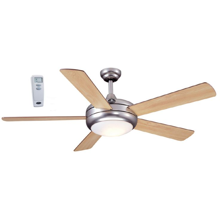 Harbor Breeze 52 In Aero Ceiling Fan With Light Kit And