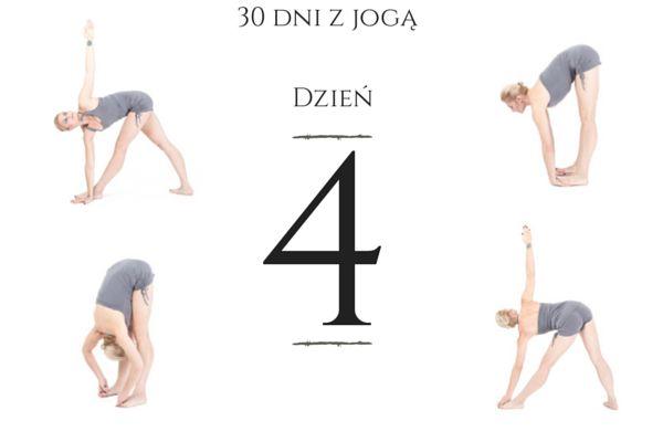 Kolejny dzień wyzwania z jogą w tle. #Padangushtasana #Padahastasana #Trikonasana #basialipska #Basia #Lipska #joga #jogawdomu