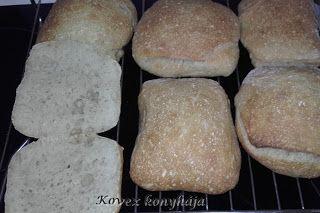 Kovex konyhája, avagy nagyanyáink receptjei egy kicsit máskép: 22 órás Ciabatta