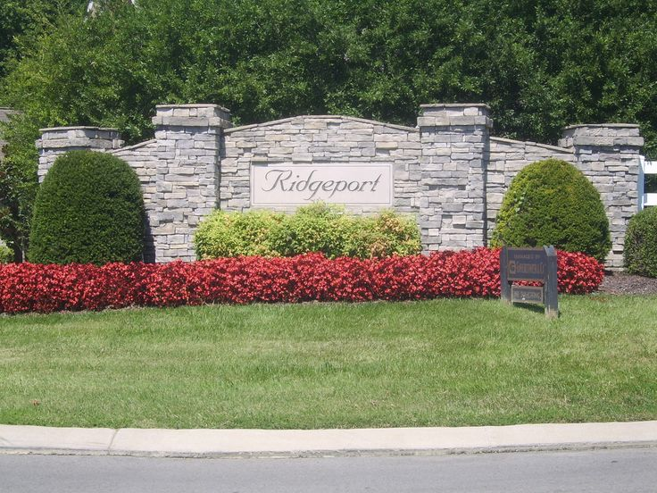 Nashville entrance landscaping subdivisions subdivision for Garden entrance designs