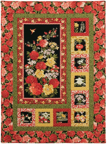 Free Quilt Patterns For Large Prints : 21 best images about Large prints on Pinterest Quilt, Quilt patterns and Creative