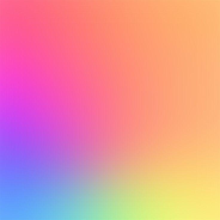 Rainbow Color Soft Gradation Blur iPad Air wallpaper