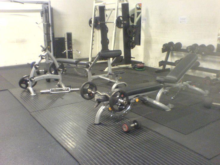 messy gym!! 2014