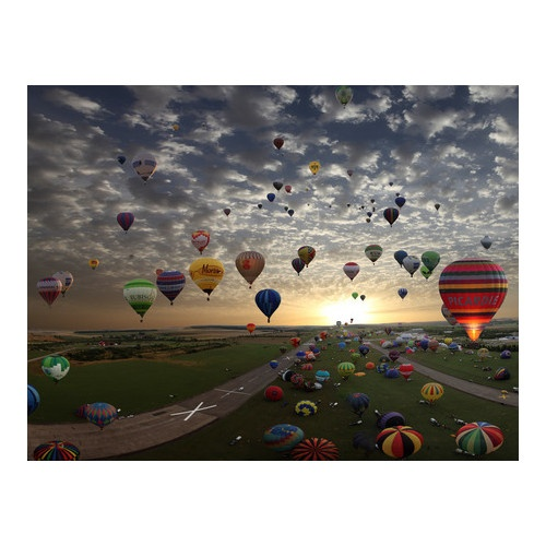 Lorraine Mondial Air Balloons Festival in Chambley, France - Beautiful Photography! I