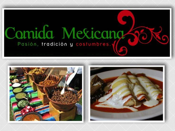 COMIDA MEXICANA Desde hace décadas, nuestras abuelas educadas en haciendas aprendieron la magia de transmitir los sabores típicos de México enriqueciendo, creando y manteniendo aquellas recetas de generación en generación. Somos una familia mexicana empresaria con gusto por nuestra cultura, tradiciones, costumbres y sobretodo: Nuestra Gastronomía. Te invitamos a compartir este ancestral acervo culinario. Cinthya Espinoza (313)  820-5744 E-mail: comidamexicanacolombia@gmail.com