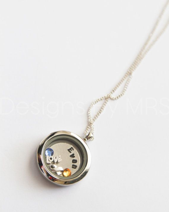 Down Syndrome Awareness Charm Locket with Custom by DesignsbyMRS, $30.00