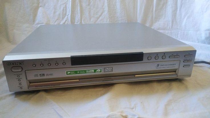 Sony DVP-NC665P 5-Disc DVD CD Changer Player Progressive Scan #Sony