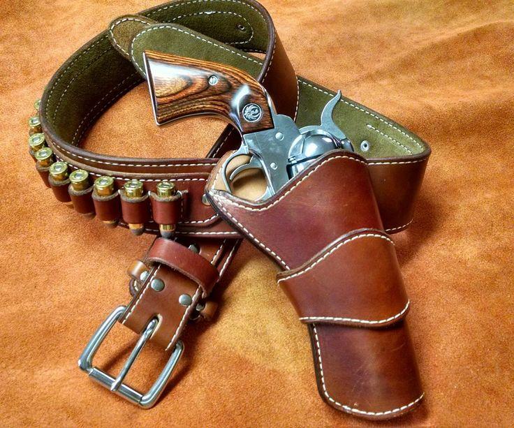 Pin On Gun Amp Knife Leather