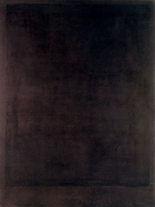 No.8-Black Form Paintings - Mark Rothko-1964. #abstractpainting