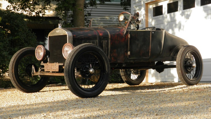 1927 Model T Racer with Model A wheels