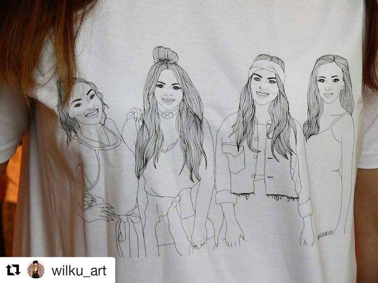 Projekt koszulki z rysunkiem autorstwa @wilku_art - wygrana w konkursie dotarła do zwyciężczyni :-) #koszulka #tshirt #draw #rysunek #artist #wow #stimago #zwycieskiprojekt