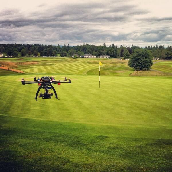 Capturing beautiful scenery aerial camera perfect to film golf courses #golffilming #aerialcamera