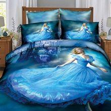2016 novos 4 Pcs 3D conjuntos de cama beleza cama definir conjunto de cama King Size capa de edredão Quilt consolador(China (Mainland))