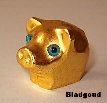 http://fmlkunst.home.xs4all.nl/glazenvarkens2/glas2.htm - bladgouden varken TE KOOP voor 9,95 euro