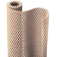 """Kittrich 605900 Ultra Grip Liner 20 x 4 - Taupe (Set of 1) by Kittrich. $39.09. Size : 20"""" x 4'. Durable and tough.. Color : Taupe. Non-adhesive.. """"CONTACT - ULTRA GRIP LINER"""" SHELF & DRAWER LINERS. """"CONTACT - ULTRA GRIP LINER"""" SHELF & DRAWER LINERS   * Size : 20"""" x 4'  * Color : Taupe  * Non-adhesive.  * Durable and tough.  * Easy to clean, was in cold water.  * Blown PVC foam construction provide a non-skid surface.  * Use throughout the house- the garage, works..."""