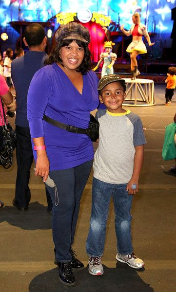 Chandra Wilson Photos Photos - Actress Chandra Wilson and son attend Ringling Bros. and Barnum & Bailey Presents Circus XTREME VIP Celebrity Premiere at Staples Center on July 13, 2015 in Los Angeles, California. - Ringling Bros. and Barnum & Bailey Presents 'Circus XTREME' VIP Celebrity Red Carpet Premiere