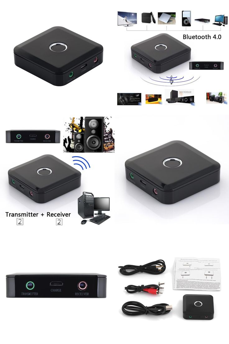 [Visit to Buy] NI5L2 in 1 Wireless Bluetooth Transmitter Receiver A2DP 3.5mm Stereo Audio Dongle Adapter for TV MP3 PC Speaker #Advertisement