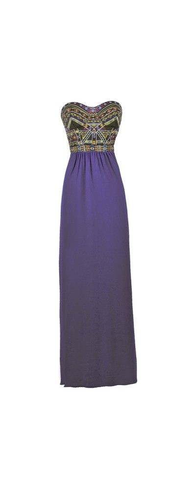 Lily Boutique Abundance of Embroidery Strapless Maxi Dress in Royal Blue, $58 Embroidered Royal Blue Maxi Dress, Blue Purple maxi Dress, Cute Maxi Dress, Blue Maxi Dress, Purple Maxi Dress, Embroidered Black and Blue Maxi Dress www.lilyboutique.com
