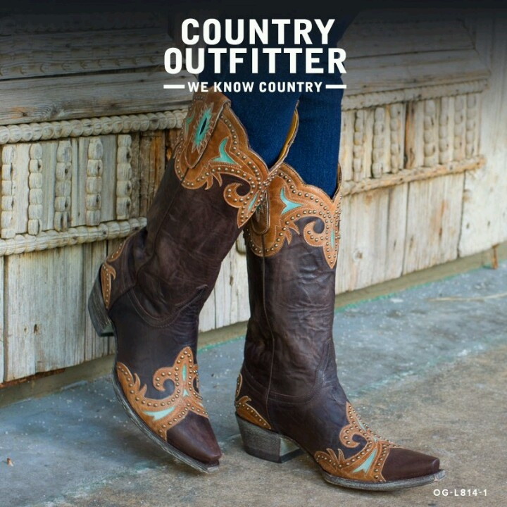 <3 COUNTRY OUTFITTER Old Gringo boots <3