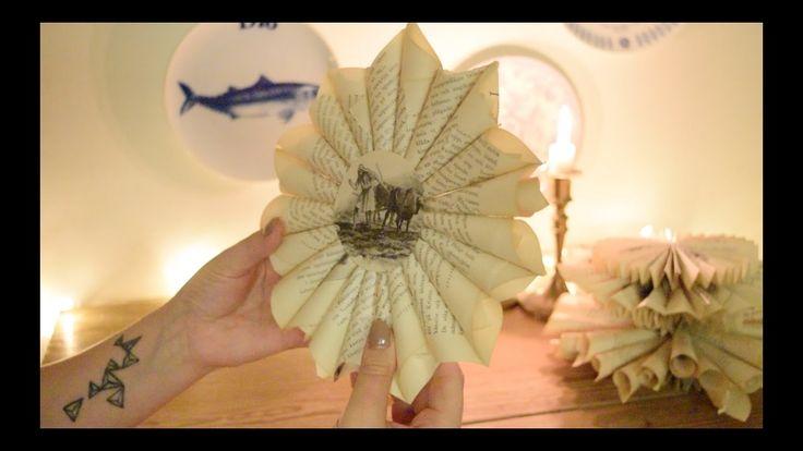 DIY: Hur du enkelt viker en julstjärna i papper!
