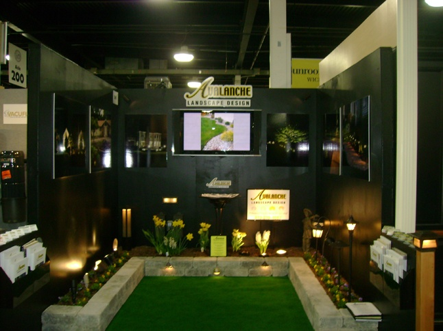 trade show graphics for avalanche landscape design. beautiful ideas. Home Design Ideas