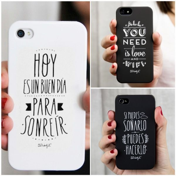 Fundas para celulares silenblogger - Como decorar una funda de movil ...