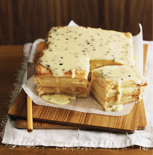 Vanilla Slice - Classic Australian Food.. looks good.. but there's no link to the recipe I'm going to Google this one....