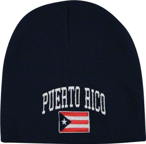 Team Puerto Rico Knit Hat by Top of the World. $18.99. Officially licensed. Knit Hat. Vibrant colors. 100% Acrylic. Embroidered graphics. Add some pizzazz to your Puerto Rico Soccer apparel collection and keep warm with this Team Puerto Rico Knit Hat. Made by Top of the World, this stylish hat features whatever and whatever. Spice up your headwear collection with this Puerto Rico Soccer hat.
