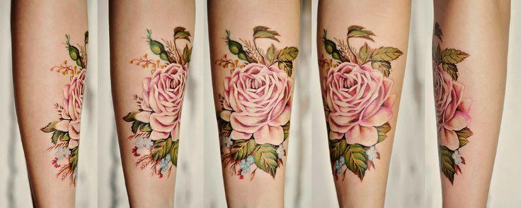 kolorowe tatuaże damskie - Szukaj w Google