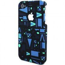 Forro iPhone 4 4S Victorio & Lucchino PopArt - Azul