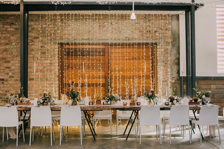 Modern Industrial style barn wedding venue. Featured on my list of favourite wedding venues >> http://michelledt.com/wedding-venues-1/