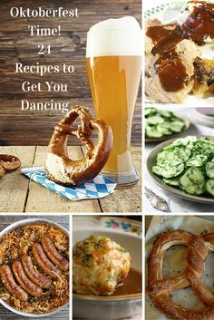 Oktoberfest Time! 24 Recipes for the Ultimate Bavarian Feast 3d46271794f3ede5e13022a491f53997  pub food dancing