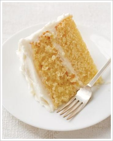 Martha Stewart yellow cake recipe..       1 stick unsalted butter, softened, plus more for cake pans and parchment 2 cups all-purpose flour 1 tablespoon baking powder 1/2 teaspoon fine salt 1 1/2 cups granulated sugar 3 large eggs, room temperature 1 cup whole milk 1 teaspoon pure vanilla extract 350 de.