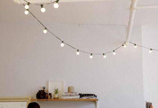 string lights indoor