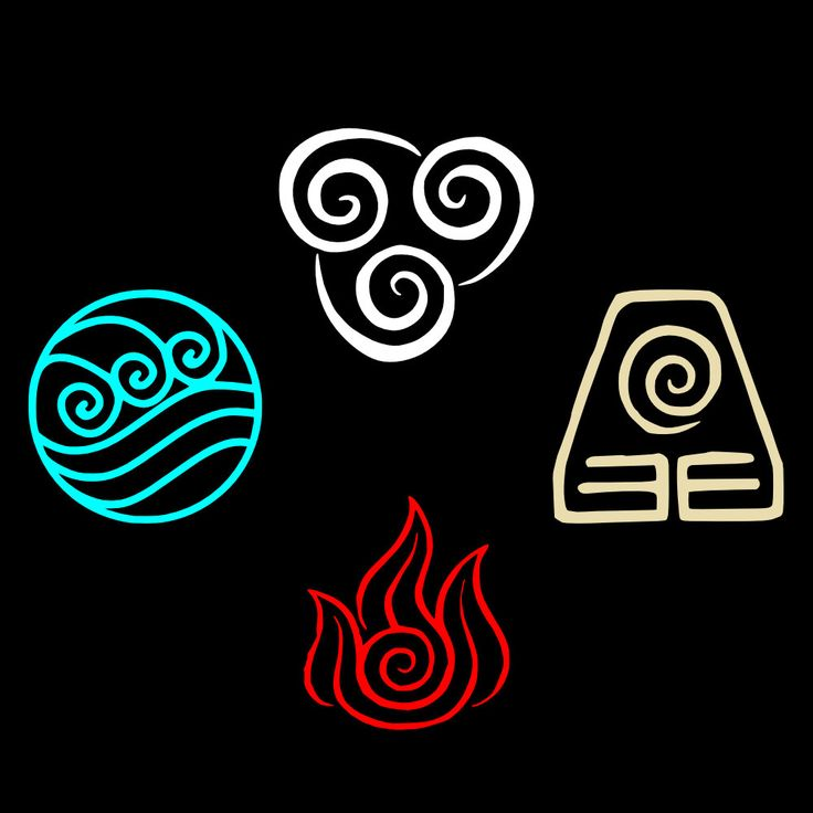 Trib Symbols  The Last Airbender  Elements Symbols  Symbols AvatarAvatar The Last Airbender Water Symbols