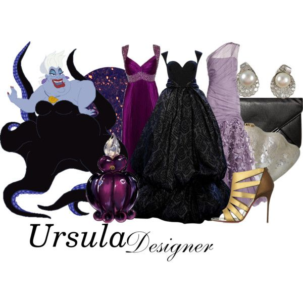"""DM nerds"" by aksmasads on Polyvore- Ursula... Want them all!"