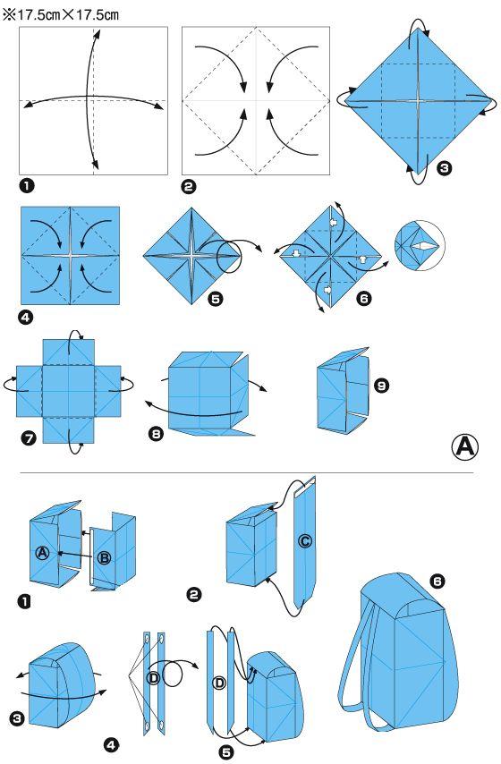 1000 id233es sur le th232me sac en origami sur pinterest
