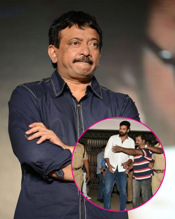 Ram Gopal Varma slams police officials for targeting Tollywood celebrities in the drug racket case #FansnStars