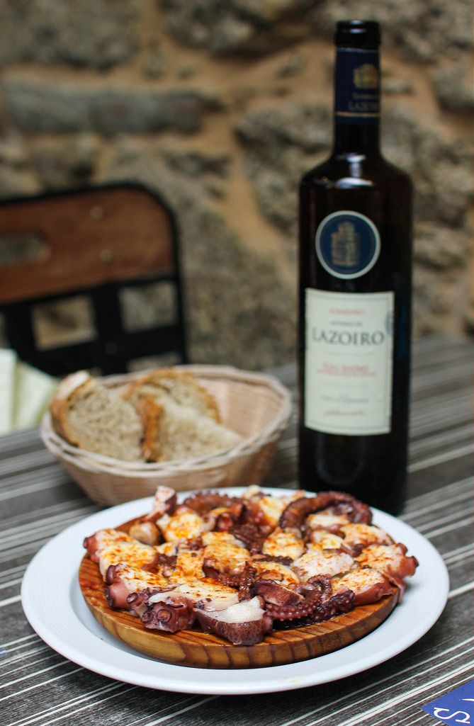 Pulpo is one of the main dishes you´ll find in Galicia!   devourspain.com