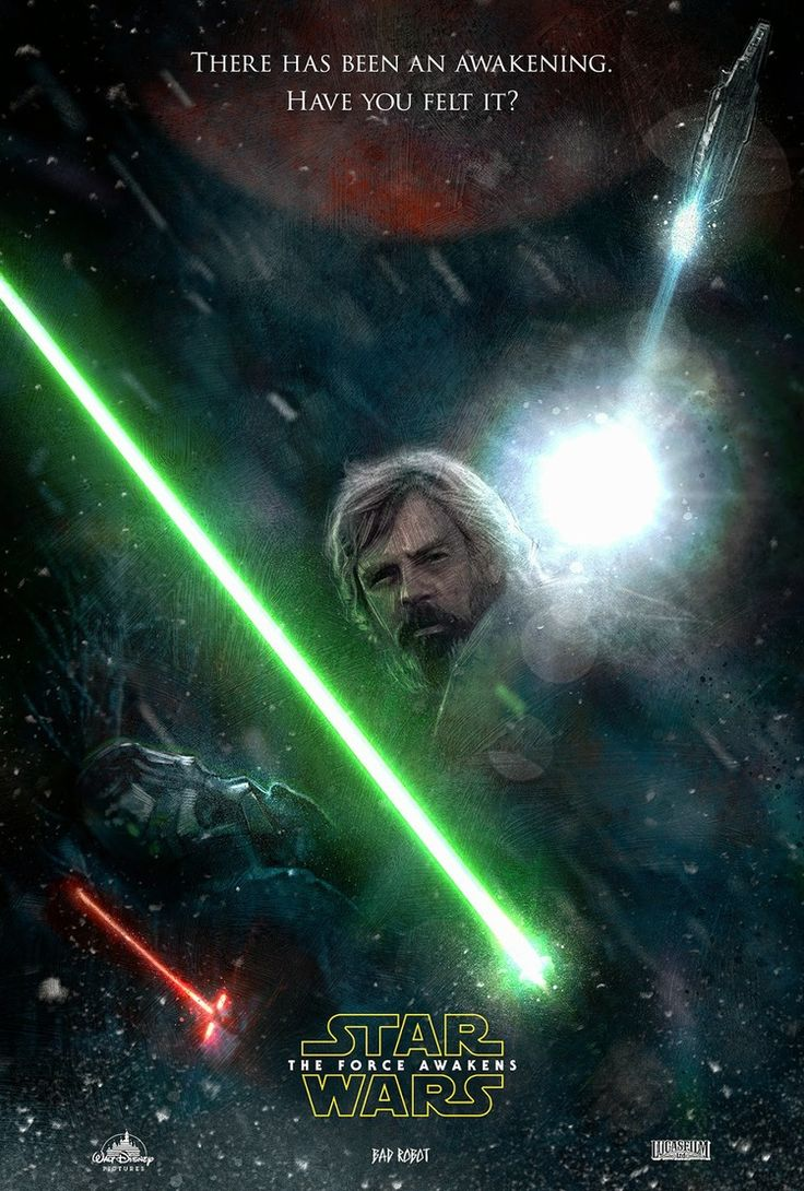 Star Wars: Episode VII: The Force Awakens - movie poster - Pail Shipper