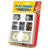 Play Money: Coins and Bills Tray