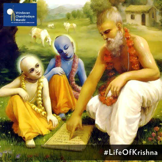 Did you know; Krishna paid his Guru Dakshina by bringing back the dead son of his Guru, Sandipani Muni? #LifeOfKrishna