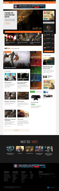 JA Playmag Responsive #Joomla Magazine Template for Sports, Games http://www.themesandmods.com/joomla-templates/ja-playmag/